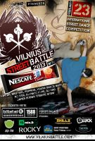 Vilnius Street Battle with NESCAFÉ