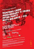 Hunters Crew 11th Anniversary