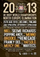 UK Bboy Championships North Europe Elimination