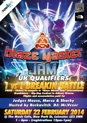 Blaze Master Jam UK Qualifiers