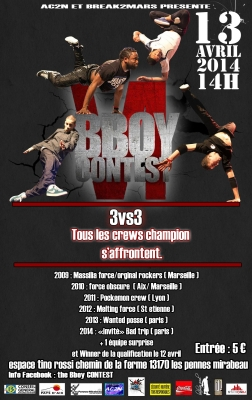 The Bboy Contest