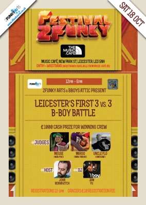 Leicesters First 3 vs 3 B-Boy UK Battle