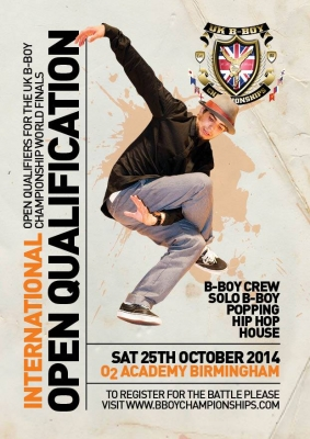 Sony B-Boy Championships 2014: INTERNATIONAL OPEN QUALIFIER