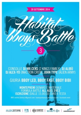 Habitat B-boys Battle 3th Edition