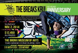 Breaks Kru 18 Year Anniversary 2014