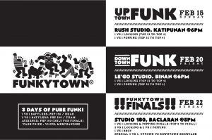 FUNKYTOWN the All-City Popping, Locking, and Bboy Battle