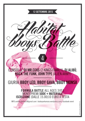 Habitat B-Boys Battle 4th Edition