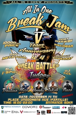 All In One Breakjam 2015 - 5 Years Anniversary
