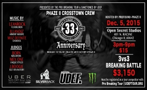 05 Phaze II 33rd Anniversary Presented By Pro Breaking Tour