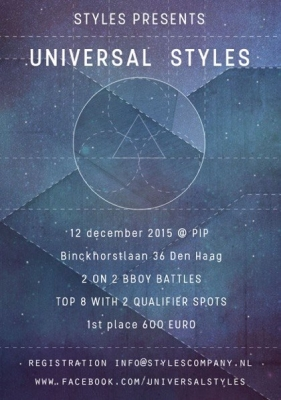 Universal Styles 2ON2 BBoy battle