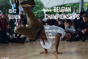 The Belgian Championships Breakdance