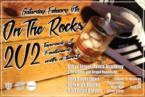 On The Rocks: 2v2 Toprock and Footwork Battles