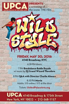 Wild Style screening & breakdance battle royale