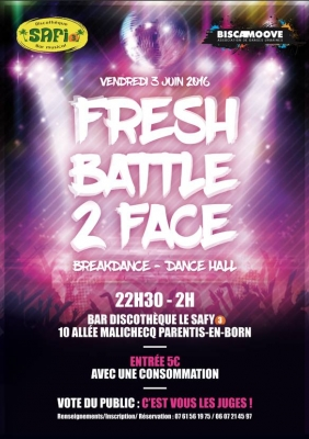 Fresh Battle 2 Face