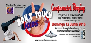 Don´t Touch Kids 2016