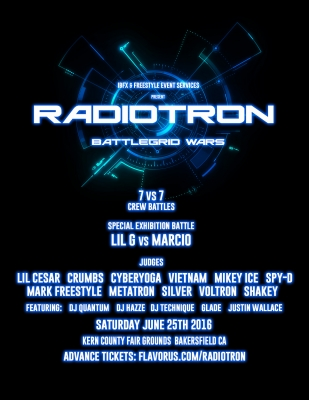 RADIOTRON - BATTLEGRID WARS