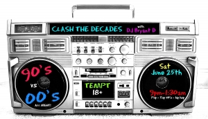 CLASH THE DECADES 90's vs 00's