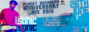 Planet Breakers Crew Anniversary Jam 2016