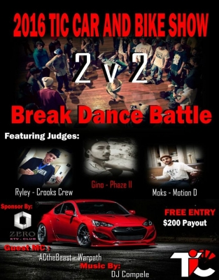 TIC Car Show And Breakdance Battle
