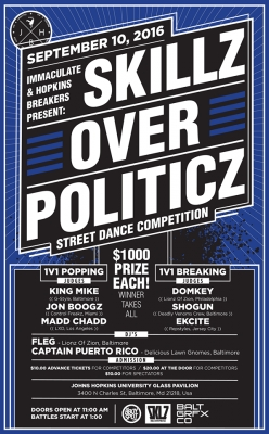 Skillz Over Politicz: Street Dance Competition