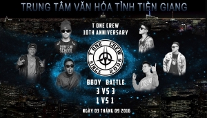 T One Crew 10TH Anniversary 2016