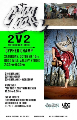 ROCO ROCK 2v2 18 and Under Breaking Battle Cypher King/Queen Award