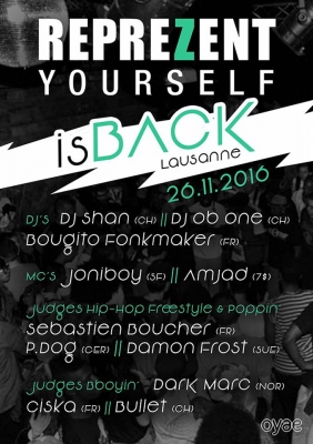 Reprezent yourself is back 4