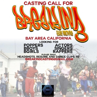 Casting Call for Breakin 3