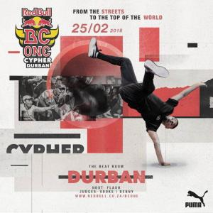 Red Bull BC One Cypher Durban 2018