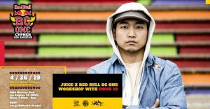 JUiCE & Red Bull BC One - Hong 10 Workshop 2019