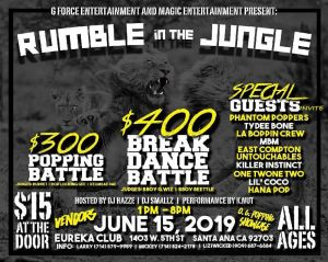 Rumble In the Jungle 2019