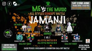 Jamanji | Me Vs the Music | All Styles Concept Battle 2019