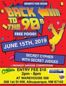 Back to the 90's: Enter the Secret Cypher 2019
