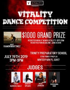 VITALITY DANCE COMPETITION 2019