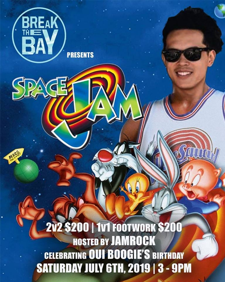 Break the Bay Pop Up: Space Jam 2019 poster