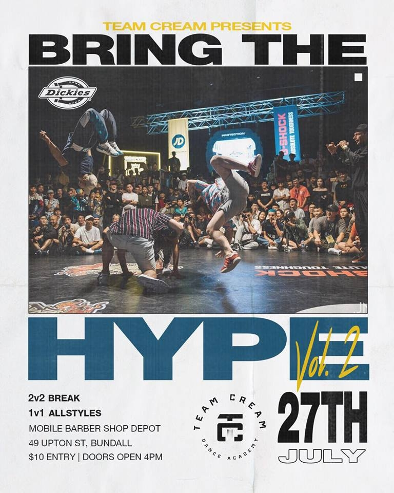 BRING THE HYPE 2019 poster