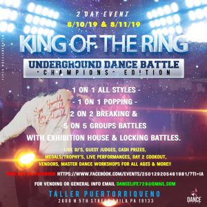 King Of The Ring Dance Battle 2019