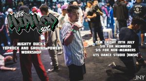 Mighty Duck's Toprock and Ground Power Workshop 2019