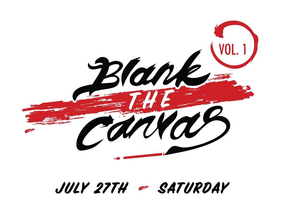 Blank The Canvas 2019 poster