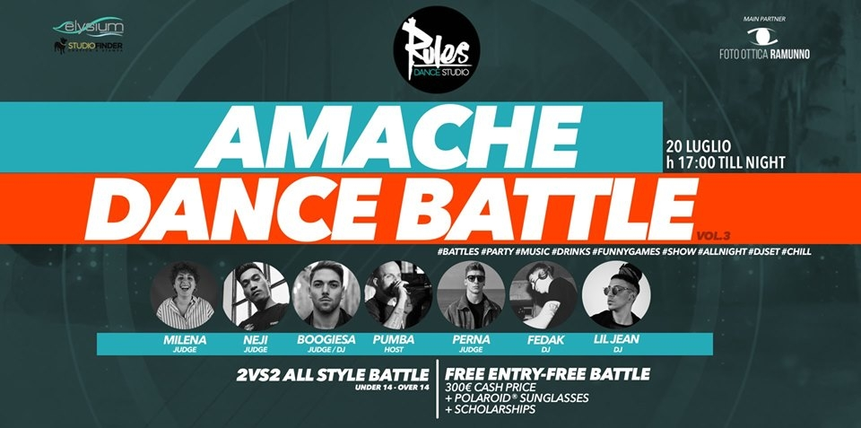 Amache Dance Battle 2vs2 Mixed Style 2019 poster