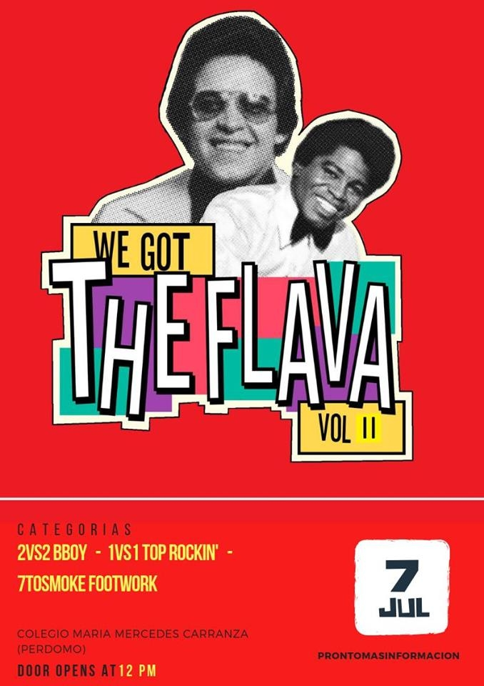 We Got The Flava 2019 poster