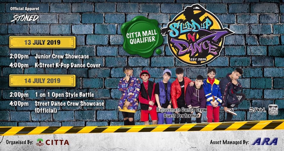 Shuddup N Dance 2019: CITTA Mall Qualifier poster