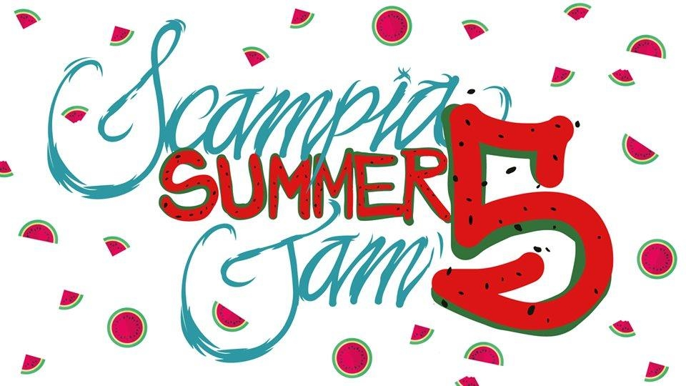 Scampia summer jam 5 poster
