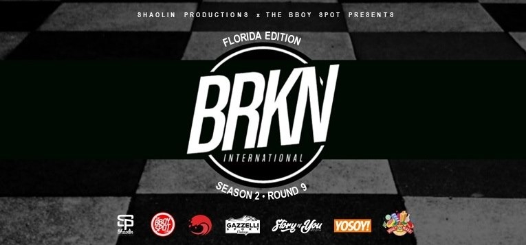 BRKN International Season 2 Round 9 x The Florida Vintage Market 2019 poster