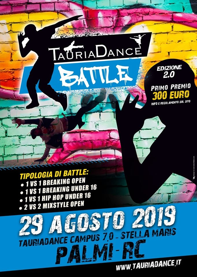 TauriaDance Battle 2019 poster