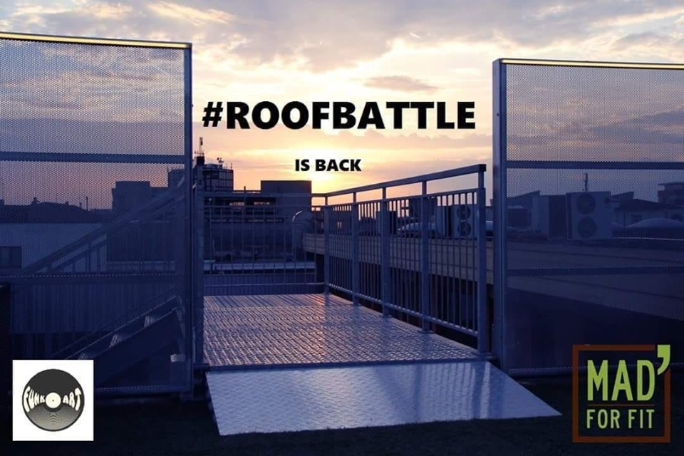 Roofbattle 2019 poster