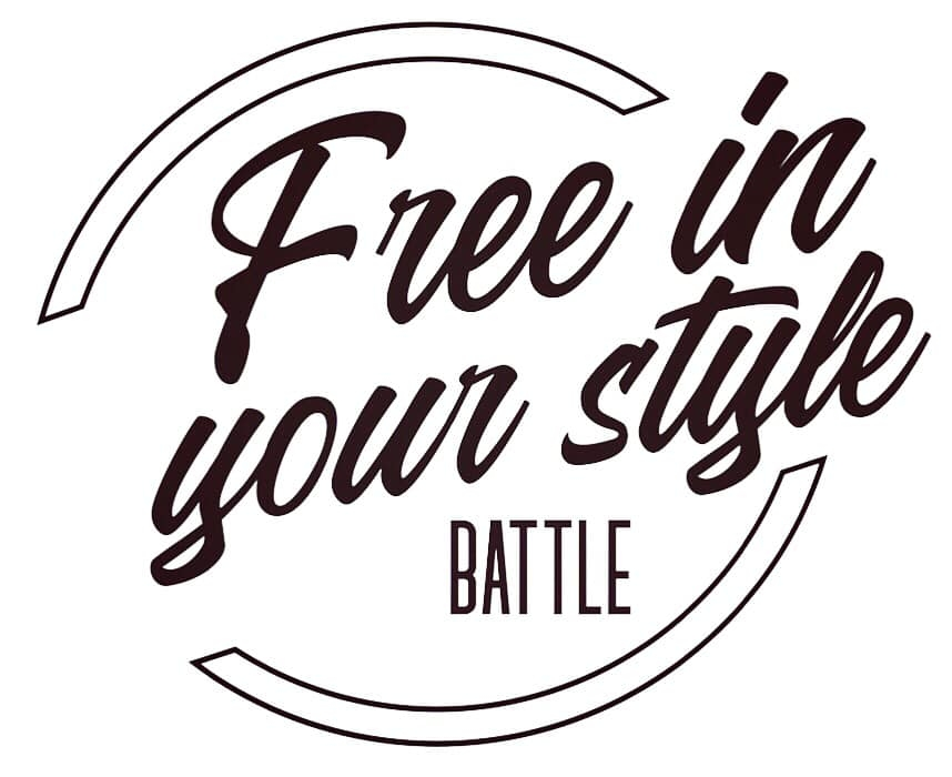 Battle free in your style 2019 poster