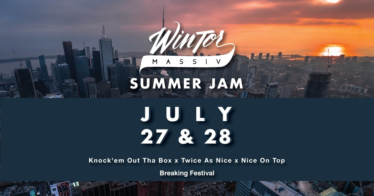 Wintor Summer Jam 2019 poster