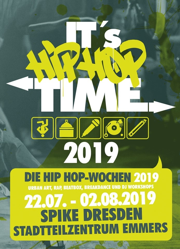It's Hip Hop Time 2019 poster