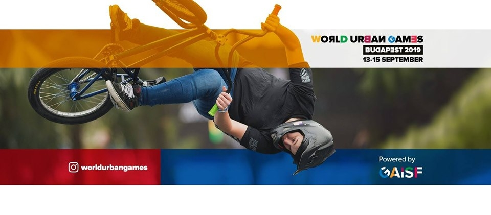 World Urban Games Budapest 2019 poster